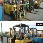 Mitubishi Forklift FG15T-F25B-56015