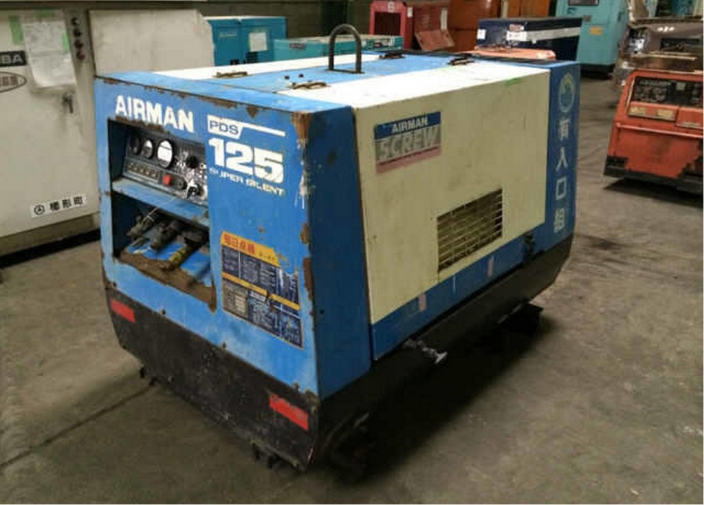 компрессор Airman PDS125