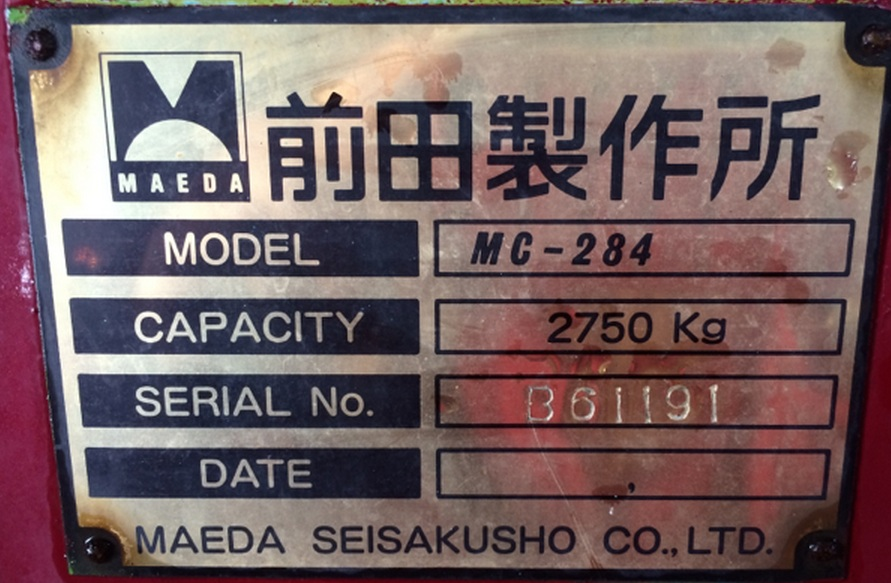 Maeda MC284-B61191.
