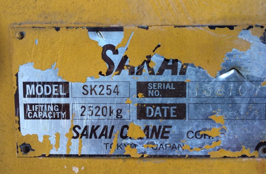 Sakai SK254-138107.
