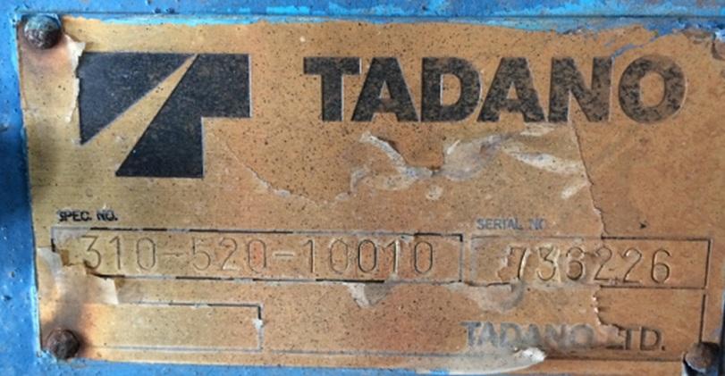 Tadano Z222-736226