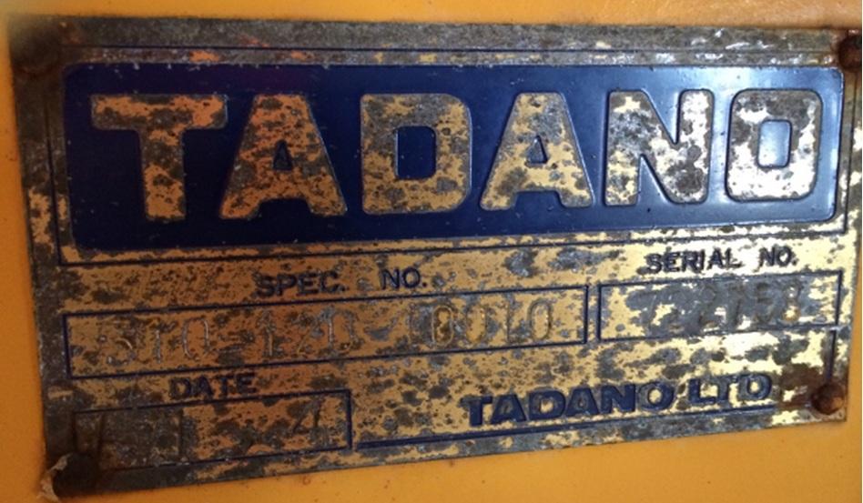 Tadano Z300-722758